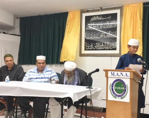 Jalsa Urs Saiyadush Shuhada Hz Bandagi Miyan Shah e Khundmir Siddique e Vilayat RZ at the Dairah in Chicago, USA*_4